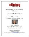 Wittenberg Psychology Department Colloquium Thumbnail