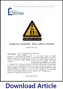 Dangerous Leadershp Cover Thumbnail with Text