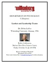 Wittenberg Psychology Department Colloquium Thumbnail
