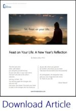 Feast on Your Life: A New Year\'s Reflection - Liminal Solutions